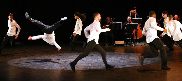 Un Break à Mozart 1.1 - CCN La Rochelle - Chorégraphie : Kader Attou - La générale le 01.11.16 - La Coursive