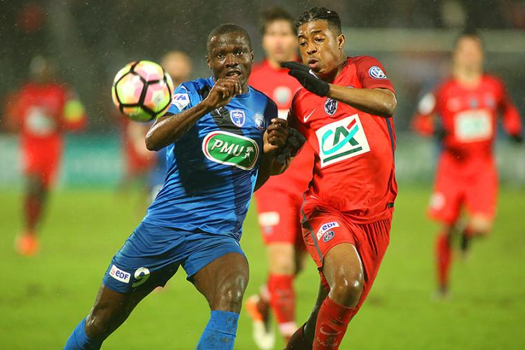 Chamois vs PSG - 8° de coupe de France - 0-2