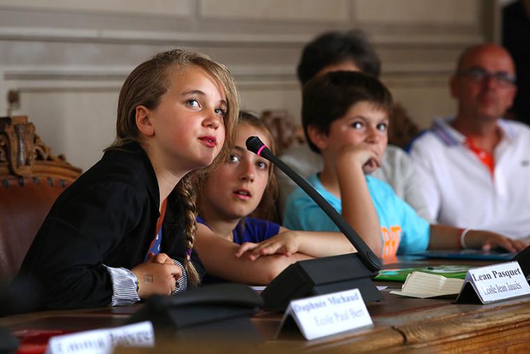 Le Conseil Municipal des Enfants 2014-2016 - Hotel de ville de Niort