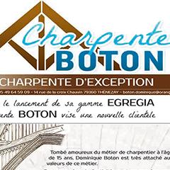 Charpente Boton, charpente d'exception
